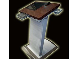 Jual Touch Screen Kiosk type Podium