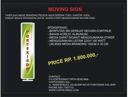 Jual MOVING SIGN