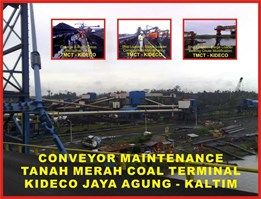 Jual FABRICATION, ERECTION, INSTALL, MAINTENANCE OF CONVEYORS SYSTEM