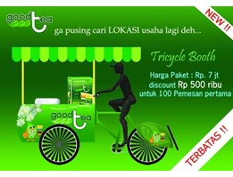 Jual Tricycle Booth