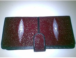 STINGRAY LEATHER LADIES WALLET 004 L