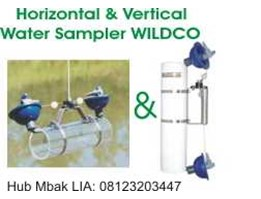 Horizontal & Vertical Alpha Water Samplers WILDCO USA