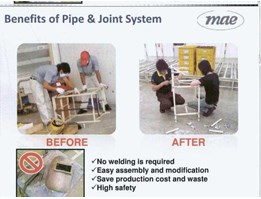 Jual PIPE JOINT FOR TROLLEY
