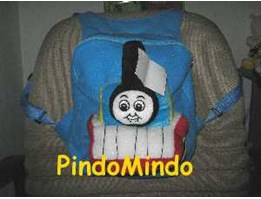 Tas Ransel Soft Toy Thomas