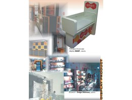 product display (both stand & showroom)