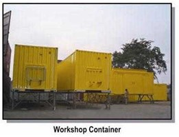 Container, Workshop Container, Foreman Container, AC Workshop Container, Mechanical Workshop Container : www.office-container.com