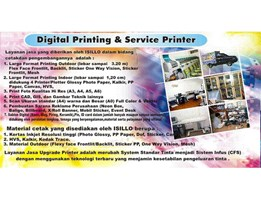 Jual PRINTING OUTDOOR & INDOOR