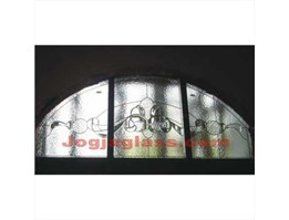 Jual Stained Glass, Kaca Patri, Glass Carving