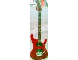 Red Corduva Electric Guitar