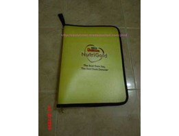 Jual MAP ZIPPER BAg / map folder plastik promosi