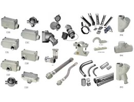 Jual Conduits, Fittings, Cable Glands, Plugs & Receptacles, etc..