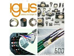 Jual igus- Energy Chain System, cable chain; cable carrier; cable protection; Cable Veyor/ Chain, Flexible Conduit, Cable Glands