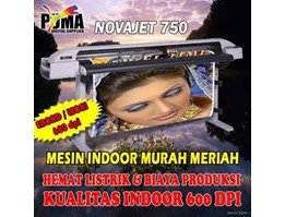 Jual Mesin digital printing indoor Lecai Novajet 750