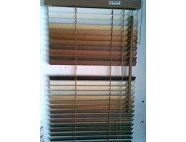 Jual wood blinds