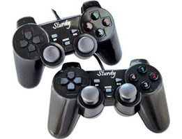 Jual Game Pad Double Usb Getar