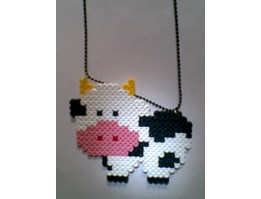 Jual kalung hamabeads  LITTLE COW