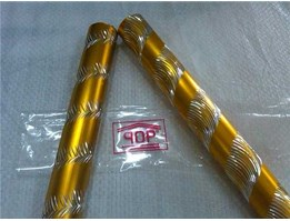 curtain pipe Crystal Daun