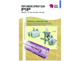 Pipe Inside Spray Gun