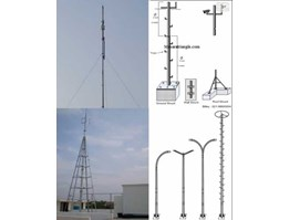 Jual PRODUKSI TOWER TRIANGLE, TOWER MONOPOLE