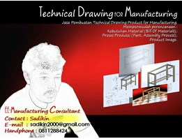 Jual Technical Drawing Product