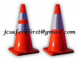 traffic equipment seperti cone, police line, mirror, garret, rompi, megaphone dll.
