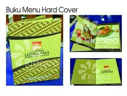 Jual Buku Menu - Hard Cover