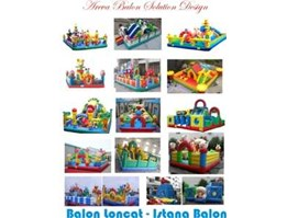 BALON LONCAT, ISTANA BALON, RUMAH BALON, INFLATABLE BOUNCER
