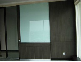 Jual Glass Board with Wall Feature