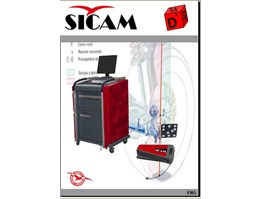 Jual Wheel Alignment 3-D ( Spooring) SICAM SA 830 D3