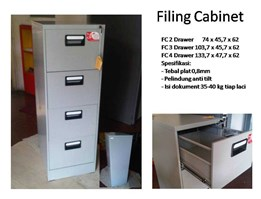 Filing Cabinet Non Fire Proof