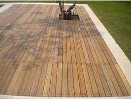 Jual Wooden Decking and Flooring