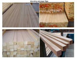 Radiata Pine Moulding & Clear Rips