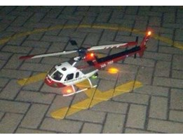 R/ C HELI ALIGN TREX 450 Sport w/ AS350 Heli Artist fuselage and Light, ARF packet. Shiping cost not Incld.