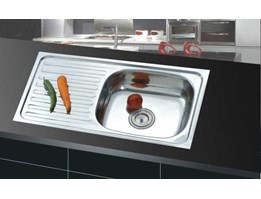 Jual Kitchen Sink( Bak Cuci Piring) Stainless Steel 100cm
