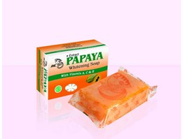 Jual the whitening soap with papaya extract