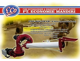 Fire Monitor EM - 6 ( Hand Operated Deflektor)