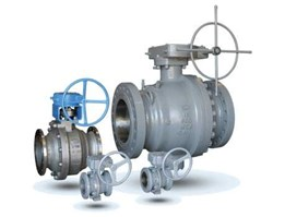 Jual Cast steel Trunion mounted Ball Valve