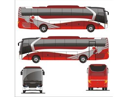 LAY OUT BIG BUS MODEL LEGACY