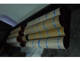 Rubber Roll Printing