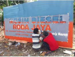Jual Branding Outlet / Painting