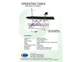 Operating Table Mobil BKKBN