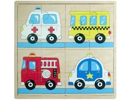 Big Picture Puzzle: Transportation 2 ( Police Car)