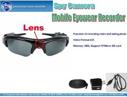 Spy Camera - Kamera penginta -EG-S01 - Mobile Eyewear Recorder