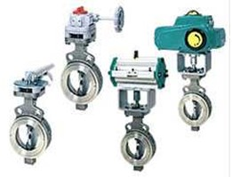 CHECK VALVE WITH ACTUATOR TOMOE OR OTHER BRAND IN BATAM