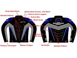 Jual JAKET CLUB TOURING 99