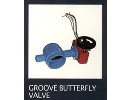 Jual BUTTERFLY VALVE, GROOVE BUTTERFLY VALVE.
