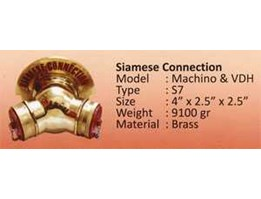 ! Siamese Connection 085691398333, fire fighting equipment, Hub : mia_ brsinaga@ yahoo.com phone 0856 9139 8333./ 021-40911748.