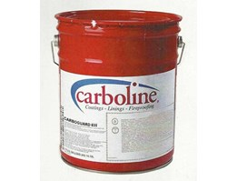 CARBOLINE Coating, Linings, and Fireproofing.