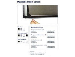 Jual MAGNETIC INSECT SCREEN