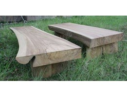 Jual Low Coffee Table kayu jati solid tanpa sambungan